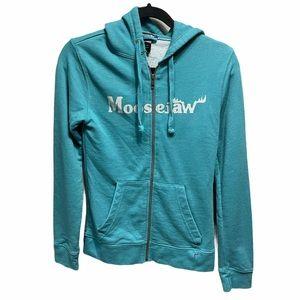 Moosejaw hoodie sweatshirt Full zip women's XS